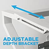 Window Air Conditioner Mounting Support Bracket (No drilling and no tools needed) by Top Shelf