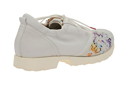 Women's up 86081 Shoe Think Lace Half Classic 97 White 6 vTxqwO
