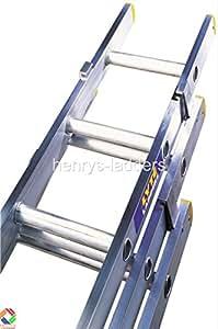 LYTE ELT330 - Escalera extensible de 3 tramos (3 m)