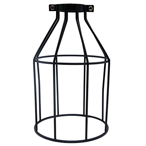 motent vintage industrial metal bird cage lampshade