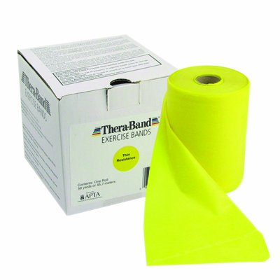 Exercise Band Size/Color: Thin/Yellow by TheraBand