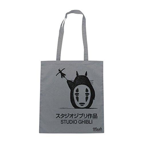 Borsa Totoro Studio Ghibli - Grigia - Cartoon by Mush Dress Your Style