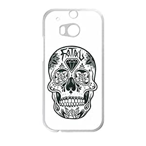 Creative Skull Cell Phone Case For HTC M8 by Maris's Diaryby Maris's Diary