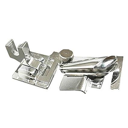 Para máquinas de coser Bias Binder, vinculante pie se ajuste a rosca de vástago bajo