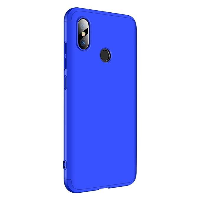 Croazhi Funda Compatible con Xiaomi Redmi Note 6 Pro/Note 5 Pro Carcasa para Redmi Note 6 Pro/ 5 Pro Cover Case PC Protector Silicona Ultra-Fina-Slim ...