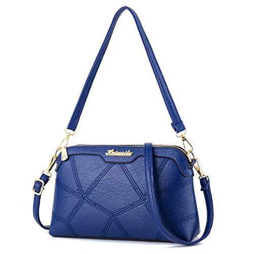 Bag unica Lady Small Diagonal Trend Single Shoulder blu taglia colore femminile Blu taglia versione Wild coreana Fashion ggq5ZwTB
