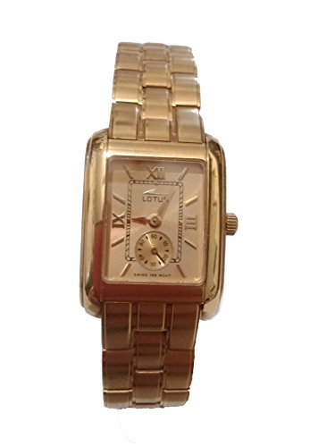 Lotus 18 ct gold watch