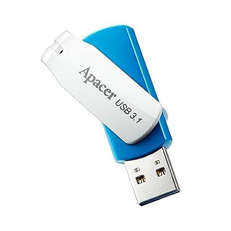 0e1f932588c Image Unavailable. Apacer AH357 16GB USB 3.1 Flash Drive Swivel Cap Design  Backwards Compatible ...