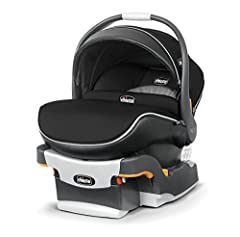 Base Only Dimensions: 20 x 15 x 8 inches , Carton Dimensions: 17.5 x 15.25 x 28.25 inches . Height recommendation is 30 inches (76 centimeters ) or less and child's head is no less than 1 inch below the top of the head rest. Children should r...