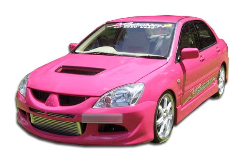 Duraflex ED-JYJ-151 Evo 8 Front Bumper Cover - 1 Piece Body Kit - Compatible For Mitsubishi Lancer -