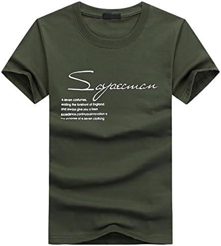 メンズ 英字 半袖 Tシャツ S字 ロゴプリント クルーネック カットソー BTS001