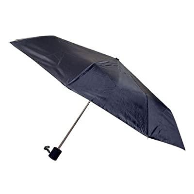 Chaby International 813 Weather Station Manual Super Mini Umbrella - Black, Pack Of 6 80%OFF