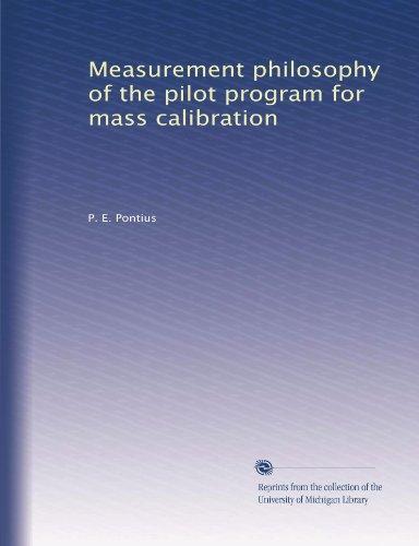 (Measurement philosophy of the pilot program for mass)