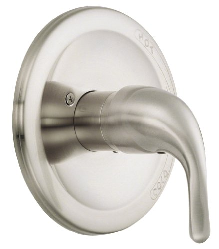 - Danze D510411BNT Melrose Single Handle Pressure Balance Valve Trim Kit, Brushed Nickel