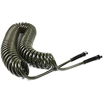 Good Water Right Professional Coil Garden Hose, Lead Free U0026 Drinking Water Safe,  50
