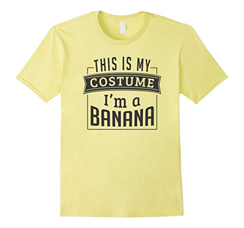 Mens Easy Halloween Costume For Adults - I'm A Banana T-Shirt XL (Adult Easy Costumes)