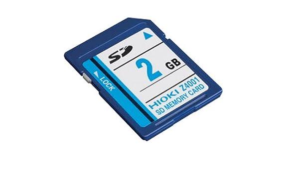 Hioki Z4001 - Tarjeta SD (2 GB de capacidad): Amazon.es ...