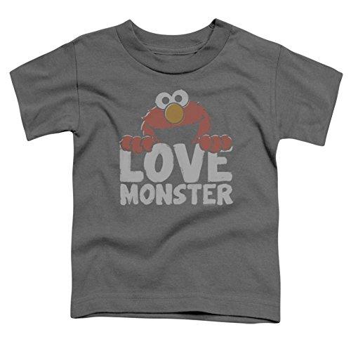Toddler: Sesame Street- Elmo Love Monster Baby T-Shirt Size 2T (T-shirt Loves Street Elmo Sesame)