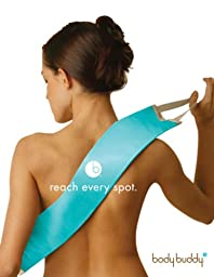 Body Buddy Fabric Lotion Applicator ~ Aqua