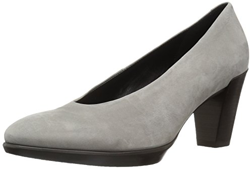 Ecco Damen Shape 55 Plateau Stack Pumps Grau (Warm Grey)