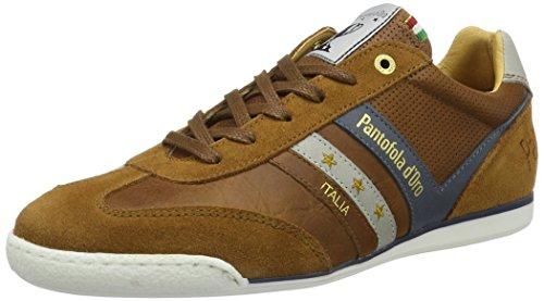 Pantofola d'Oro Vasto, Sneakers Uomo Marrone Chiaro (Tortoise Shell)