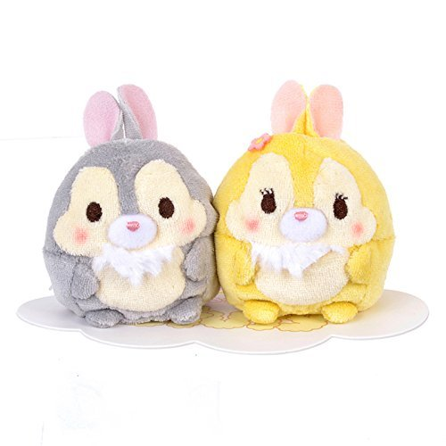 (Disney Store jpan, Disney ufufy stuffed toy (mini) Miss Bunny & Thumper, TSUM TSUM)