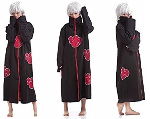 Cosplay Akatsuki Sasuke Itachi Costume Cloak Uniform