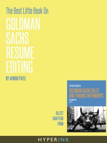 the-best-little-book-on-goldman-sachs-resume-editing