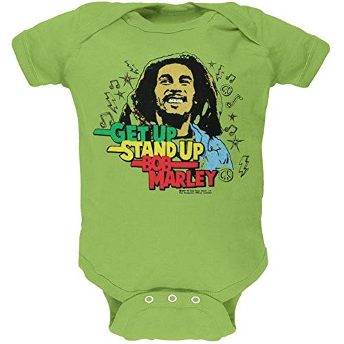 Bob Marley - Get Up Baby One Piece - Medium