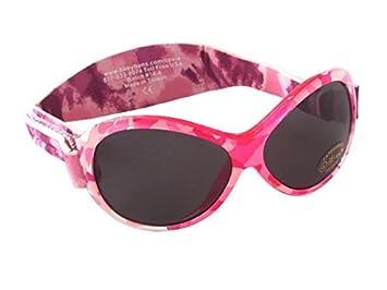 Baby Banz RETRO Banz Oval Baby Sonnenbrille, Rosa Diva Camo, 0