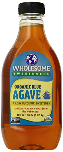Wholesome Sweeteners Organic Blue Agave Nectar, 36 Ounce by Wholeome Sweeteners