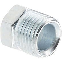 """Eaton Weatherhead Steel Inverted Flare Brass Fitting, Nut, 3/8"""" Tube OD"""