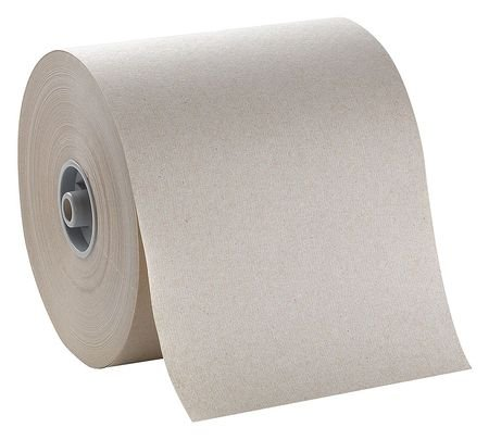 Brown Paper Towel Roll 7″W x 800'L, 6 Rolls