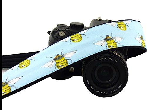 Bee Camera Strap. Canon Nikon Camera Strap. DSLr / SLR Camera Strap. Photo Camera Accessories; 235