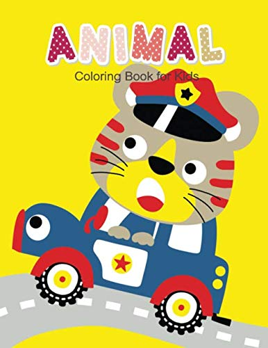 Happy Halloween Hawaii (Animal Coloring Book for Kids: Children Activity Books for Kids Ages 2-4, 4-8, Boys, Girls, Fun Early Learning,)