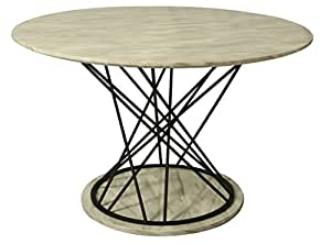 Pastel Furniture Janette Marble Dining Table