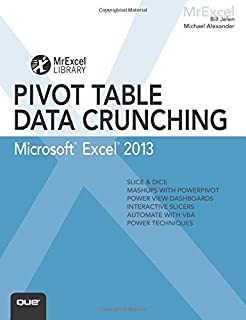 amazon com pivot table data crunching 9780789734358 bill jelen