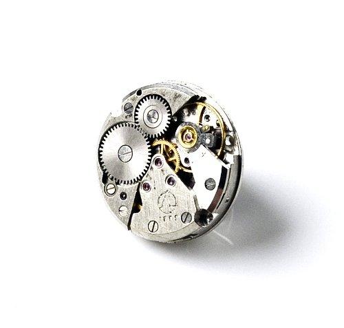 Quality Handcrafts Guaranteed Steampunk Lapel Pin (Lapel Pin Steampunk)