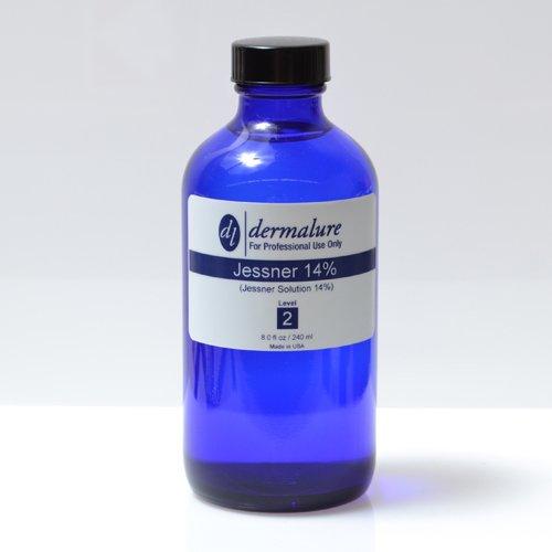 Jessner Solution Acid Peel 14% 8oz. 240ml Pro Size (Level 2 pH 1.9)