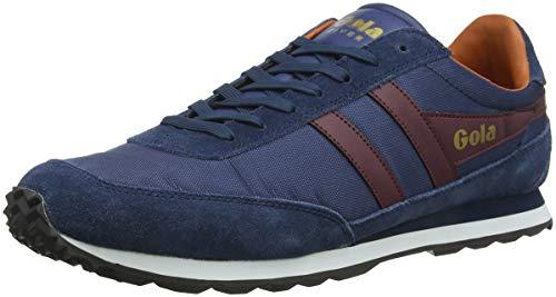 Er Flyer scuro Blu bordeaux Sneakers lunatico Gola Arancione da uomo blu TnSdH4v