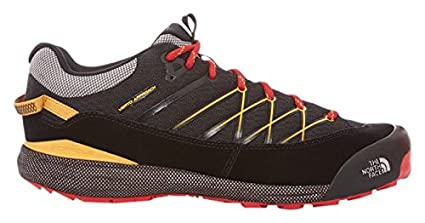 The North Face Verto III Approach Shoe - Men's TNF Black/TNF Yellow 9
