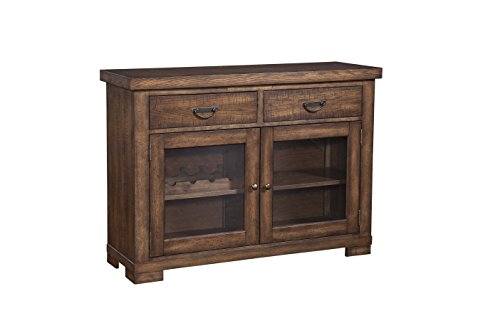 Furniture At Home Selwyn Collection Server, Antique Brown