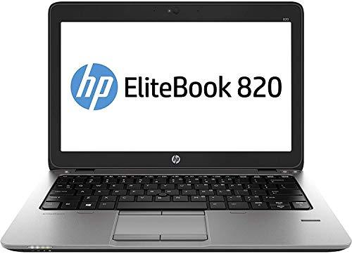 Ordinateur portable HP EliteBook 820 G1 12″ Ultrabook (Intel Core i5-4300U, 8 Go de RAM, 180 Go de SSD, WiFi, WebCam, Windows 10 Professionnel 64 bits) (renouvelé)