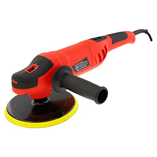 TCP Global 7'' Variable Speed Polisher with Digital RPM Display; Professional High Performance Polisher with a Powerful 10 Amp, 1200 Watt Motor by TCP Global (Image #1)