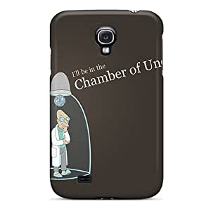 Galaxy S4 Case Cover - Slim Fit Tpu Protector Shock Absorbent Case (professor Futurama)