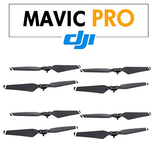 DJI-Mavic-4-Pairs-8330-Quick-release-Folding-Propellers-Black-Drone-Kit-Remote