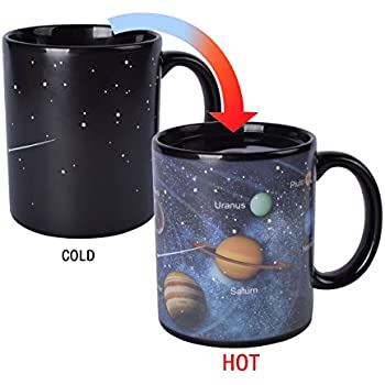 Amazon Com Heat Changing Constellation Mug By The