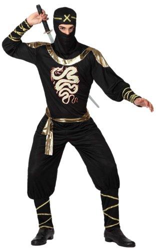 Atosa-15291 Disfraz Ninja, color negro, XL (15291): Amazon ...