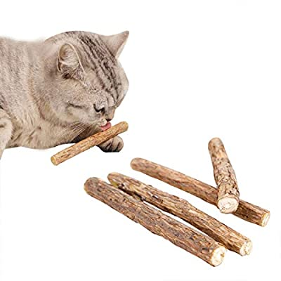 Cat Food FineInno Cat Catnip Sticks Organic Natural Matatabi Silvervine... [tag]