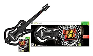 Guitar Hero 6: Warriors of Rock - Guitar Bundle (Xbox 360) [Importación inglesa]